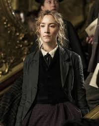 Little Women Jo March Black Coat | Saoirse Ronan Cotton Fleece Coat