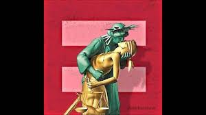 Liberty Kissing Justice - YouTube
